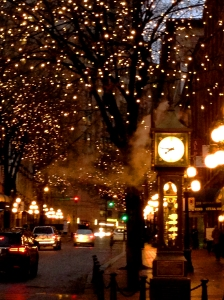 Gastown Steam Clock Dec 2015 Coypright Shelagh Donnelly