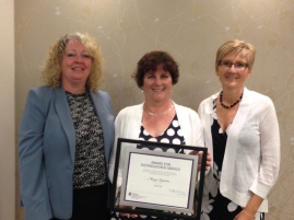 Margo Baptista Distinguished Service Award 2015